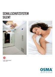 scHallscHutzsystem silent - OSMA-Aufzüge