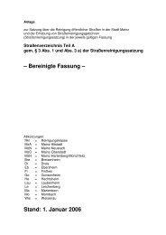 Bereinigte Fassung - Entsorgungsbetrieb der Stadt Mainz
