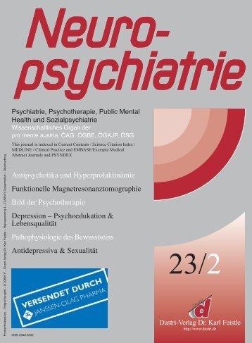 Antipsychotika und Hyperprolaktinämie Funktionelle - Medizinische ...