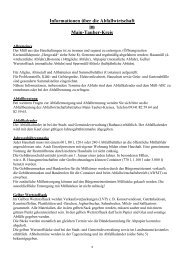 Informationen über die Abfallwirtschaft im Main-Tauber-Kreis
