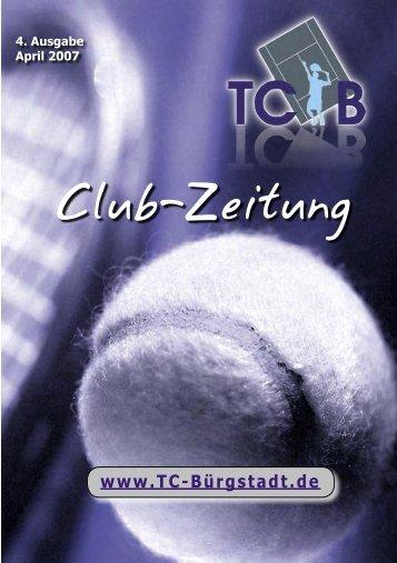 Clubzeitung 2007 - TC Bürgstadt
