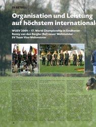 SV-ZEITUNG _1/2005 - Verein für Deutsche Schäferhunde (SV)