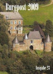Burgpost Ausgabe 2009-11-19 Druckversion - Burg Vondern