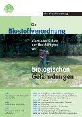 Die Biostoffverordnung - Arbeitssicherheit und Gesundheitsschutz ... - Seite 2