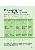Die Biostoffverordnung - Arbeitssicherheit und Gesundheitsschutz ... - Seite 5