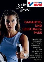GARANTIE- UND LEISTUNGS- PASS - Intersport Eybl