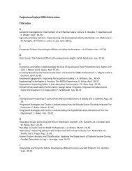 2008 Article Index