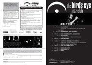 MAI 2010 - The Bird's Eye