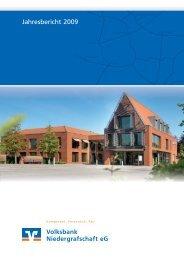 Geschäftsbericht 2009 der Volksbank Niedergrafschaft eG (PDF/ca