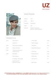 Anatole Taubmann - Artist Network