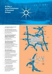 Ihr Weg zu Agilent Technologies in Düsseldorf/ Ratingen