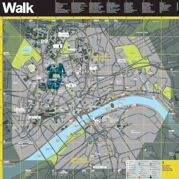 Newcastle City Centre map - Newcastle Gateshead