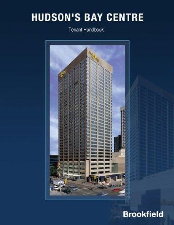 Tenant Handbook(Full Version) - Brookfield Properties