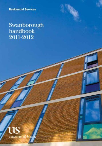 Swanborough handbook 2011-2012 - University of Sussex