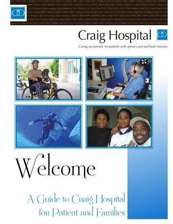 Welcome Guide - Craig Hospital