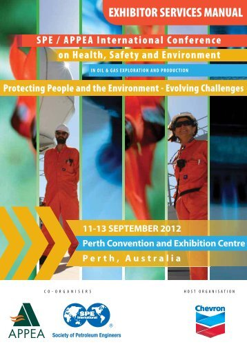 EXHIBITOR SERVICES MANUAL - Society of Petroleum Engineers