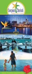 2011 Beach & Bay Guide - Corpus Christi Convention and Visitors ...