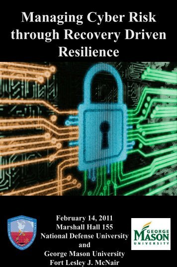 Managing Cyber Risk through Recovery Driven Resilience