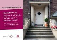 Geiststraße 98 – Dokumentation - Frauenhaus und Beratung eV