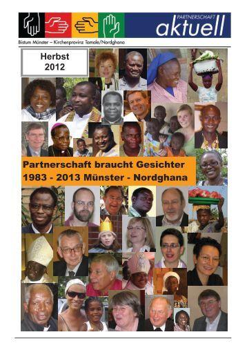Herbst 2012 Partnerschaft braucht Gesichter 1983 - 2013 Münster ...