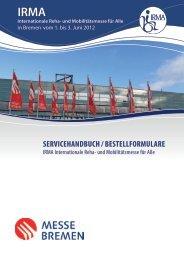 SERVICEHANDBUCH / BESTELLFORMULARE - Escales-Verlag