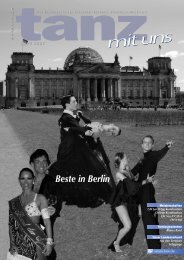 Meisterschaften - Deutscher Tanzsportverband eV