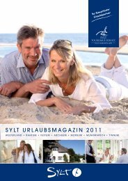 SYLT URLAUBSMAGAZIN 2011