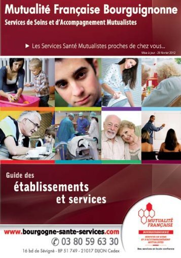 Mise à jour - 29 février 2012 - Mutualité Française Côte-d'Or - Yonne