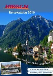 Reisekatalog 2010 - Home