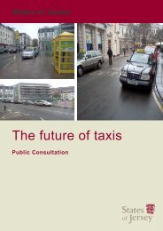 The future of taxis: Public Consultation - States of Jersey