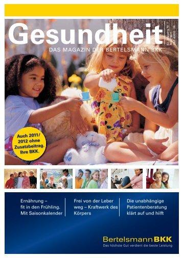 Gesundheit - Bertelsmann BKK
