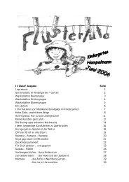 Informationen zur Medikamentenabgabe im Kindergarten