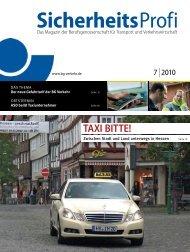 SicherheitsProfi 7/2010 - Berufsgenossenschaft für Transport und ...