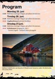 Program - Chrisfestivalen