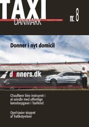 Donner i nyt domicil - TaxiDanmark