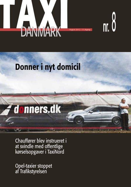 Donner i nyt domicil - TaxiDanmark