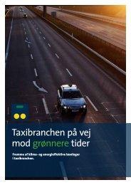 Taxibranchen på vej mod grønnere tider - Dansk Taxi Råd