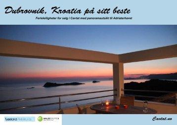 Last ned salgsoppgave - Leiligheter i Cavtat Kroatia Dubrovnik
