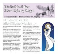 Kirkeblad for Havnbjerg Sogn December 2010 - Havnbjerg kirke