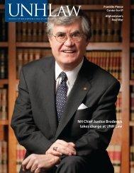 WINTER 2011 • VOL. 15, No. 1 - UNH School of Law - University of ...