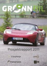 PROSJEKTRAPPORT 2011 - Transnova