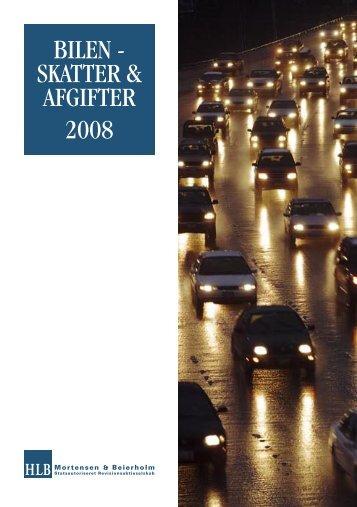 Bilen - skatter & afgifter 2008 - FDM