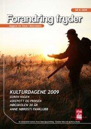Forandring fryder 8/2009 - Åmot kommune