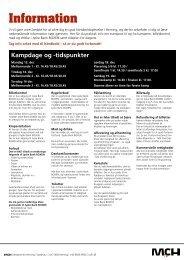 Information - MCH