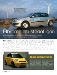 Elbiler i FDM Motor nr. 5 2008 - Dansk Elbil Komite