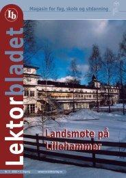 Lektor. 3-04 - Norsk Lektorlag