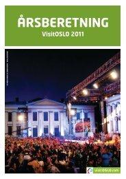 Årsberetning VisitOSLO 2011 - PDF (5 MB)