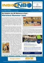 INFOS ZU TECTUM & evo NBO - New Basket 92 Oberhausen