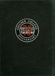 Donnybrook Fair - Goucher College