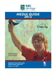 MEDIA GUIDE 2012 - RBC Heritage